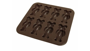 Yoko Design Bear mould baking forms Brown, Dishwasher proof