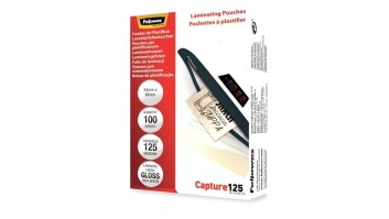 LAMINATOR POUCH GLOSSY CARD/125 100PCS 5306302 FELLOWES