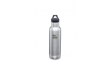 klean kanteen Insulated Classic Water Bottle 1000571 Capacity 0.592 L, Brushed stainless steel