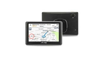 "Mio Truck navigation Spirit 7700 5"" touchscreen, 5"" touchscreen, GPS (satellite), Maps included"
