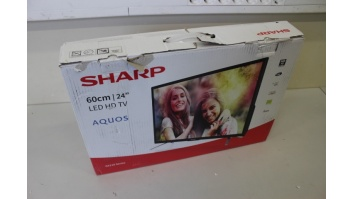 "SALE OUT. Sharp LC-24CHG5112E 24"" (60cm) TV Sharp DAMAGED PACKAGING"