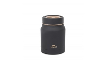FOOD JAR 0.5L BLACK/90331BK RIVACASE