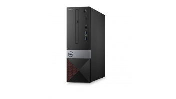 Dell Vostro 3471 Desktop, SFF, Intel Core i3, i3-9100, Internal memory 8 GB, DDR4, SSD 256 GB, Intel HD, Tray load DVD Drive (Reads and Writes to DVD/CD), Keyboard language English, Windows 10 Pro, Warranty 36 Basic OnSite month(s), Wi-Fi