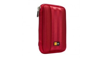 Case Logic QHDC101R EVA External Harddrive Case, small (8.3 x 2.0 x 13.2cm), sangria (red) Case Logic