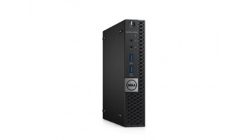Dell OptiPlex 5050 MFF i3-6100T/8GB/256GB/HD/Win10 Pro/No kbd/No mouse/3Y Basic NBD OnSite