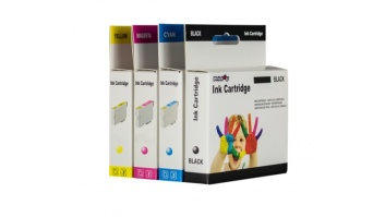 Print4you Canon CLI-551Y XL Geltona Ink Cartridge, Yellow