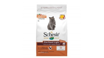 Schesir STERILIZED&LIGHT CHICKEN 400g