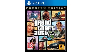 GAME GRAND THEFT AUTO V PREM//PS4 SONY