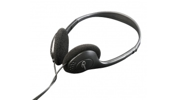 Gembird MHP-123 Stereo headphones with volume control 3.5 mm, Black,