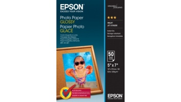 Epson Photo Paper Glossy 50 sheets, 13 x 18 cm, 200 g/m²