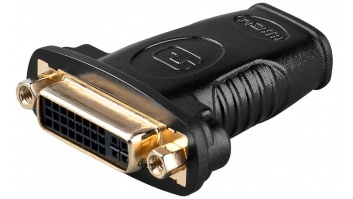 Goobay HDMI/DVI-I adapter, gold-plated 68690