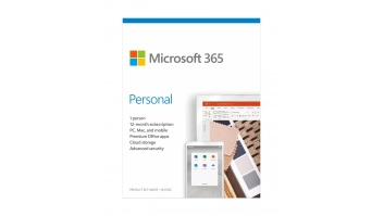 Microsoft 365 Personal QQ2-00989 1 Person, License term 1 year(s), English, Medialess, P6