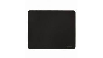 MOUSE PAD CLOTH RUBBER/BLACK MP-S-BK GEMBIRD