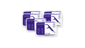 DENTAL FLOSS STICK/6PACK SOOCAS