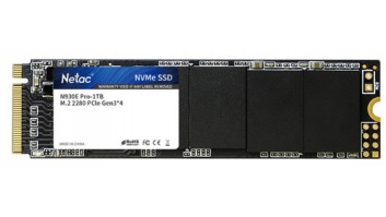 SSD|NETAC|512GB|M.2|PCIE|NVMe|Write speed 1720 MBytes/sec|Read speed 2130 MBytes/sec|NT01N930E-512G-E4X