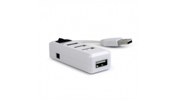 Gembird USB 2.0 4-port hub with switch