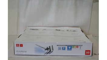 SALE OUT. One For All Outdoor Antenna SV9453 Global-SV9453-0000-100 ONE For ALL DAMAGED PACKAGING, Outdoor Yagi Antenna, 15 dB